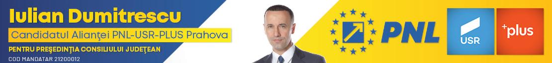 Iulian Dumitrescu, președinte PNL Prahova